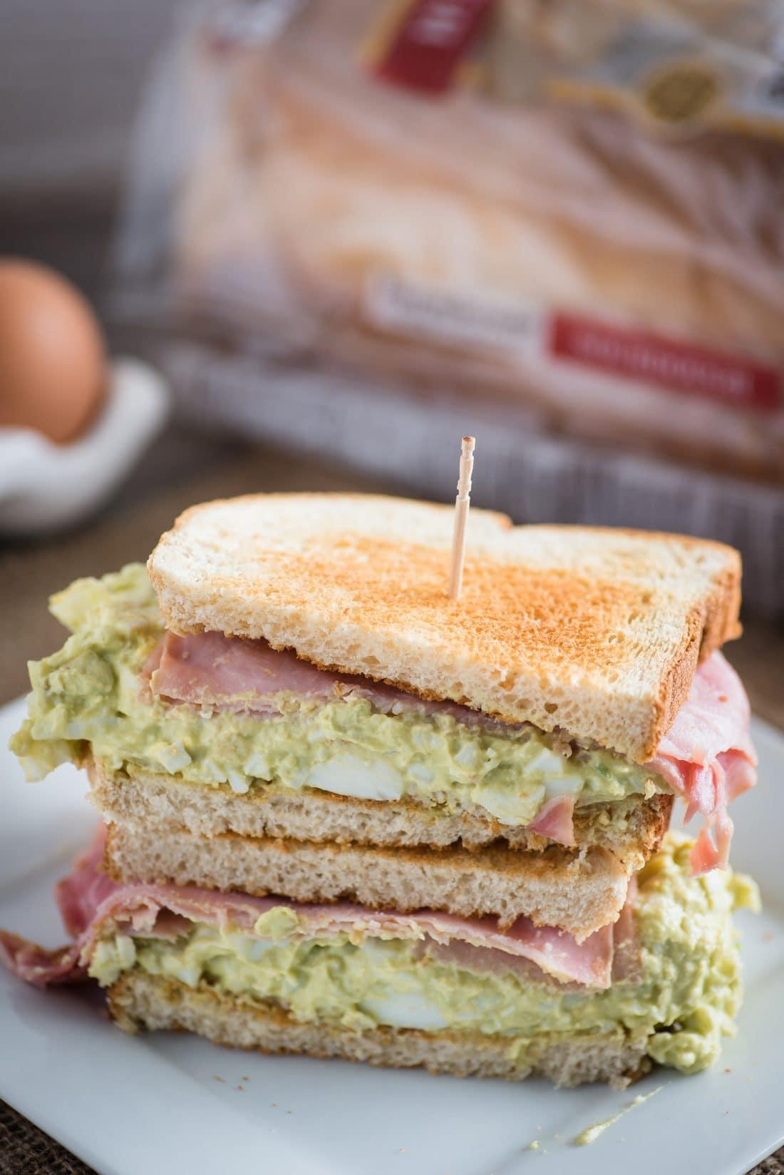 Green Eggs and Ham Sandwich