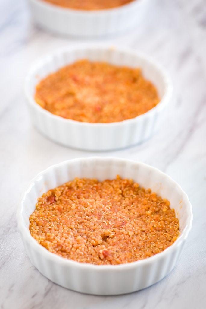 Quinoa Pizza Bowls