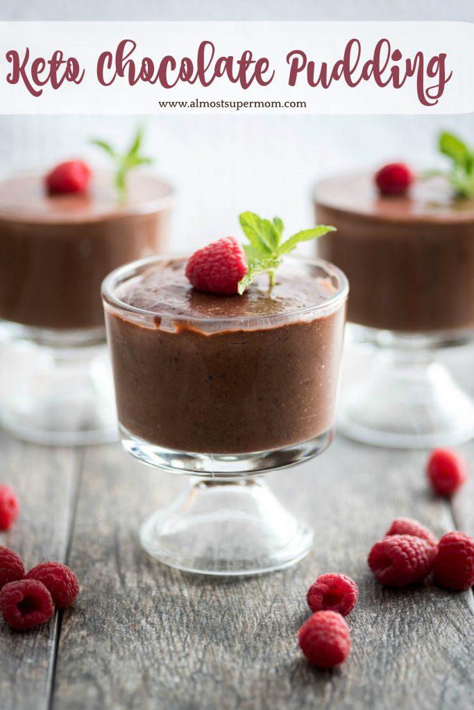 Keto Chocolate Pudding Recipe Almost Supermom