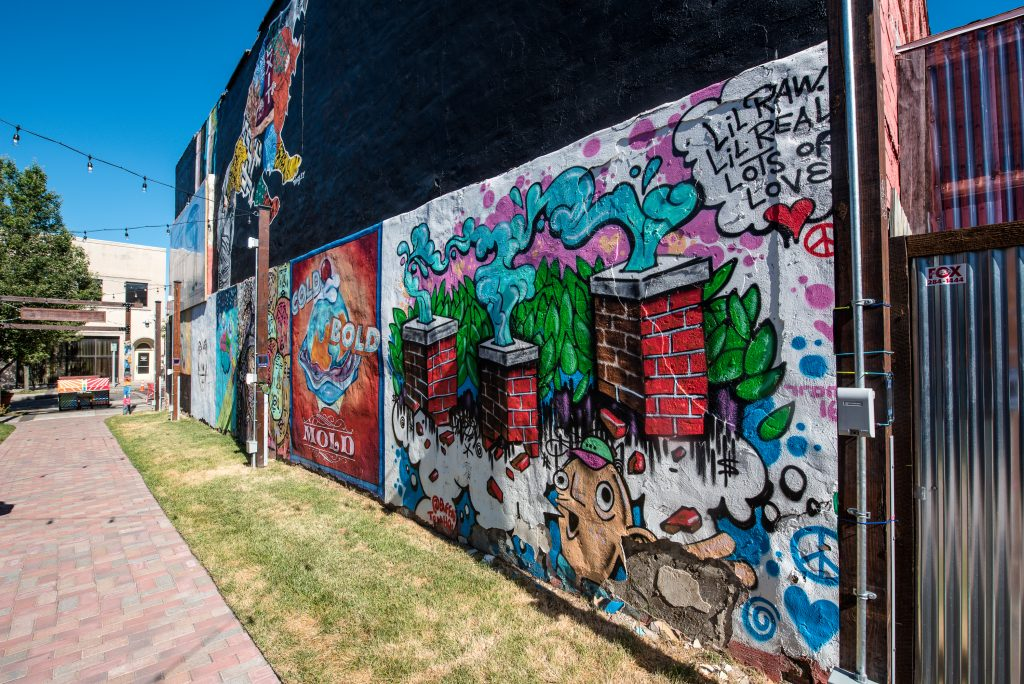 Art Alley is a fun and free thing to do in Niagara Falls